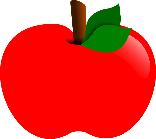 Apple, Red, Fruit, Food, Healthy, Isolated, Fresh