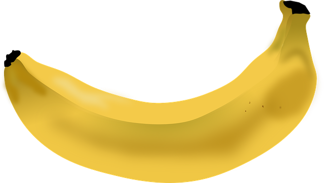 Banana, Fruit, Yellow, Fresh, Healthy, Food