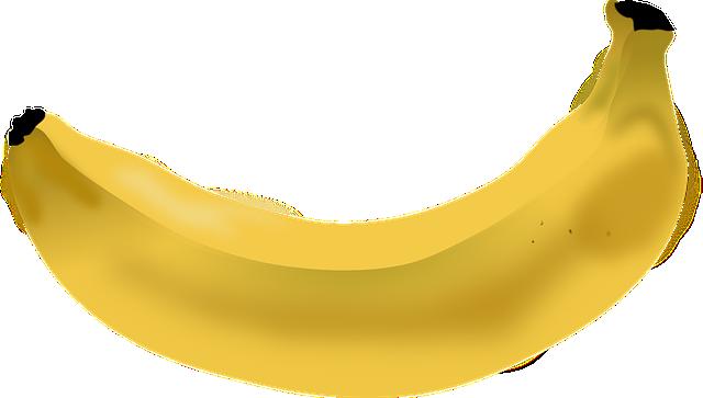 Banana, Fruit, Yellow, Fresh, Healthy, Food