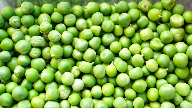Peas, Ripe, Fresh, Bio, Healthy, Harvest, Vegetables
