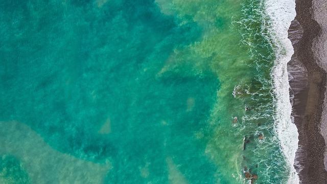 Sea, Water, Blue, Shore, Wave, Green, Fresh, Hot