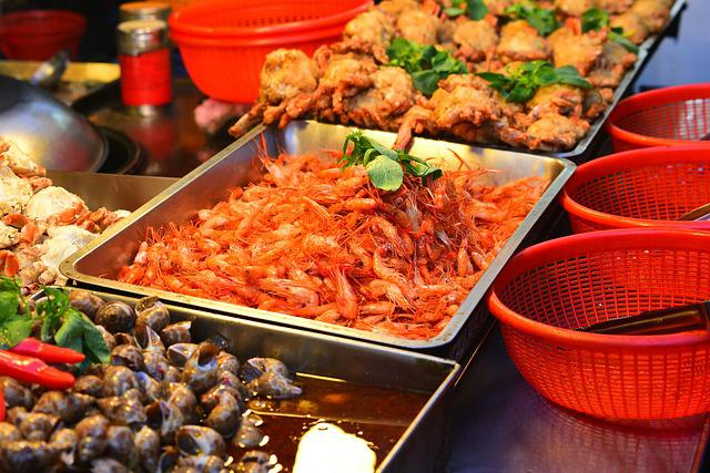 Barbecue, Fried, Deep-fried, Shrimp, Snack