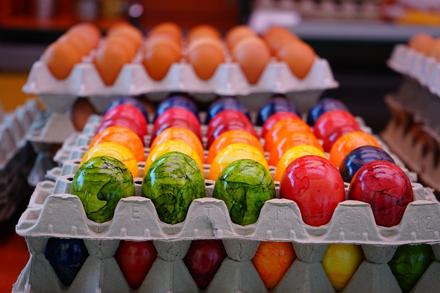 Egg, Easter Eggs, Colorful, Colored, Cheerful, Friendly