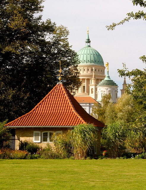 Potsdam, Nikolai Church, Friendship Island