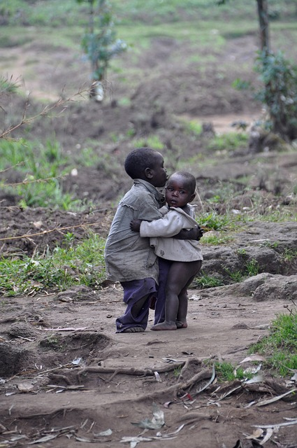 Kids, Children, Boys, Friendship, Africa, Rwanda