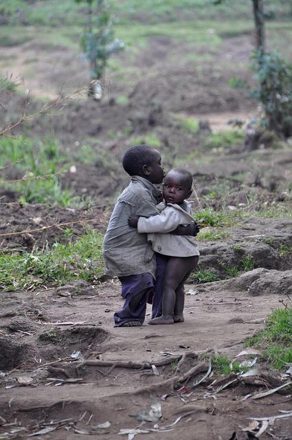 Kids, Children, Boys, Friendship, Africa, Rwanda
