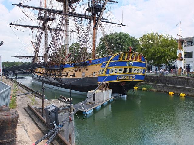 La Fayette, Frigate Hermione, France
