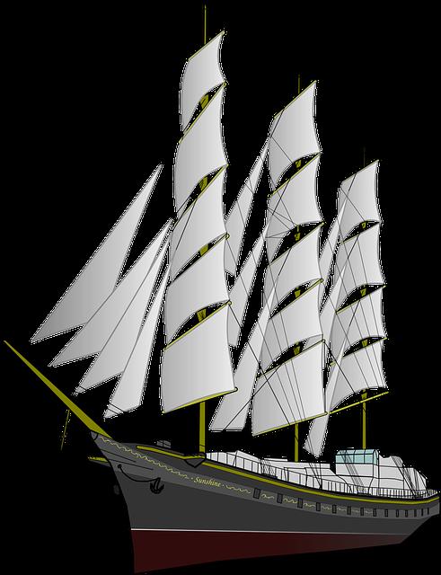 Frigate, Ship, Boat, Vehicle, Ocean, Sea, Old