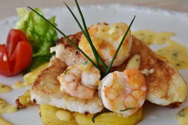 Fish, Fish Plate, Scholl Fillets, Potato, Food, Frisch