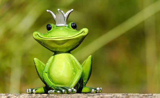 Frog, Figure, King, Cute, Funny, Sweet, Fun, Animal
