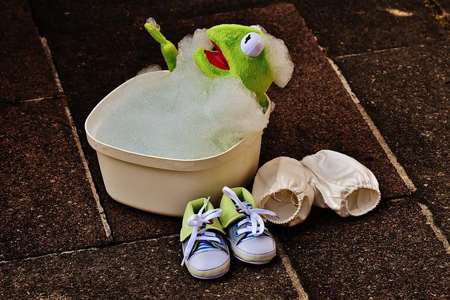 Kermit, Bath, Bath Foam, Funny, Frog, Cute, Swim, Foam
