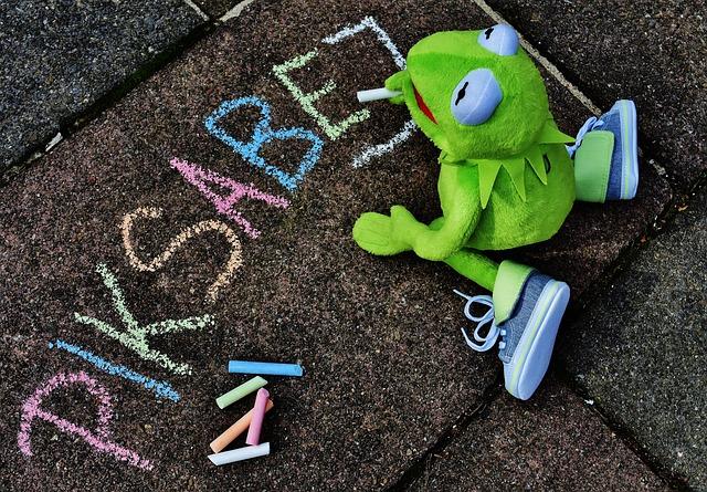 Straßenkreide, Typographical Errors, Kermit, Frog