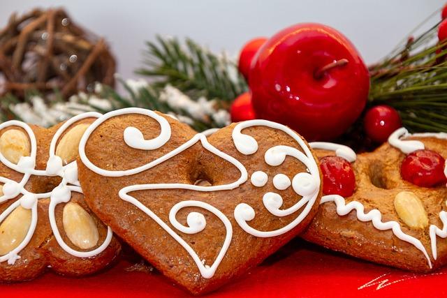 Gingerbread, Cookies, Christmas, Eat, Frosting, Cookie