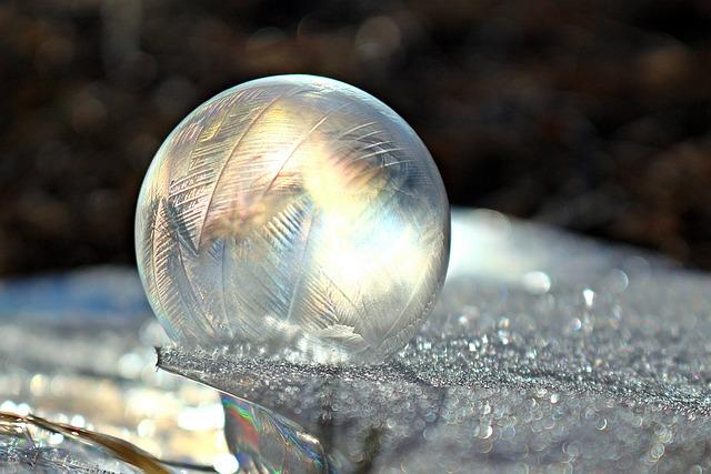 Soap Bubble, Frost Ball, Frozen Bubble, Light, Crystal