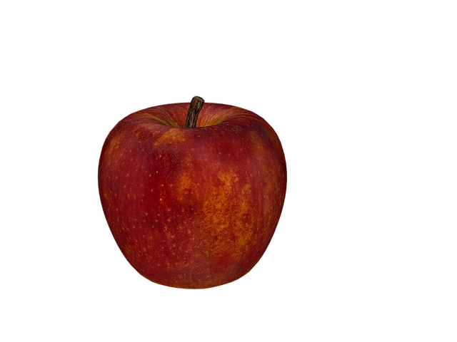 Apple, Fruit, Red, Frisch, Digital Art, Isolated