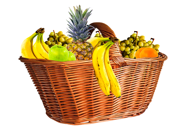 Fruit Basket, Fruits, Fruit, Png, Isolated, Eat, Food