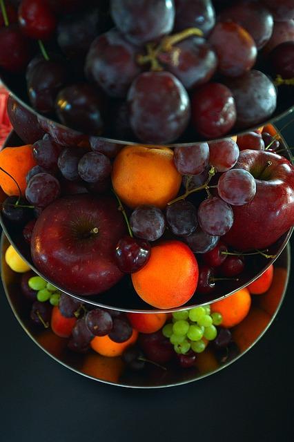 Fruit, Bowl, Fruit Bowl, Food, Offering, Food Amp Drink