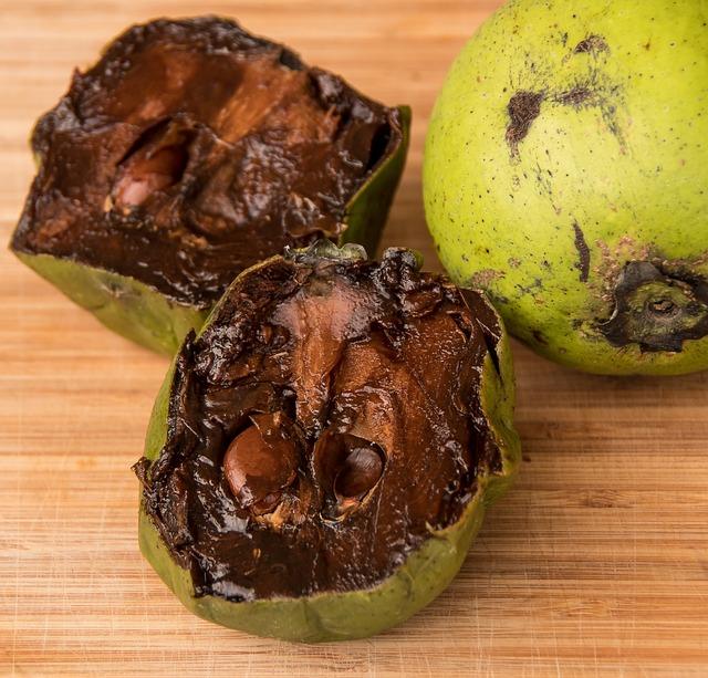 Fruit, Sweet, Black Sapote, Chocolate Pudding Fruit