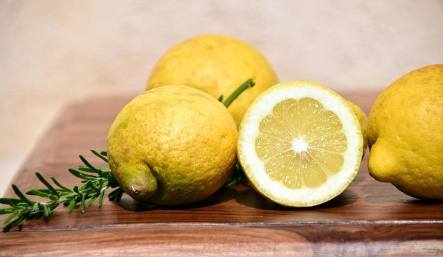 Lemons, Mediterranean, Citrus Fruits, Citrus, Fruit