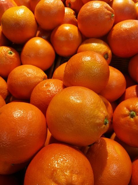 Fruit, Food, Citrus × Tangerina, Juicy