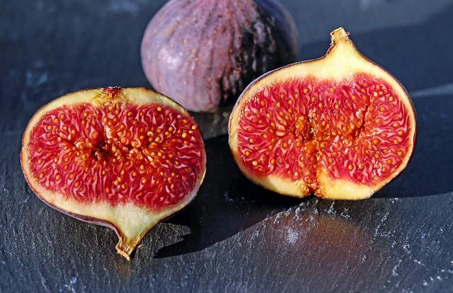 Figs, Red Coward, Fruit, Fruits, Sweet, Fig Fruit