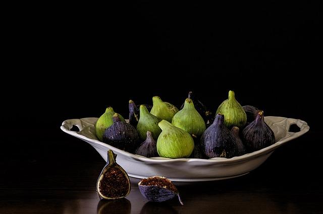 Bodegones, Figs, Sweet, Fruit, Fig Tree, Food, Mature