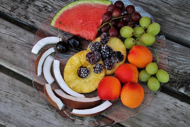 Fruit, Plate, Appetizer, Fresh, Nutrition, Vitamins