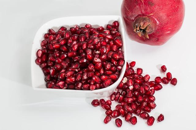 Pomegranate, Fruit, Seeds, Food, Fresh, Organic