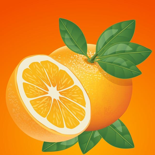 Orange, Fruit, Healthy, Juicy, Fresh, Bright, Yellow