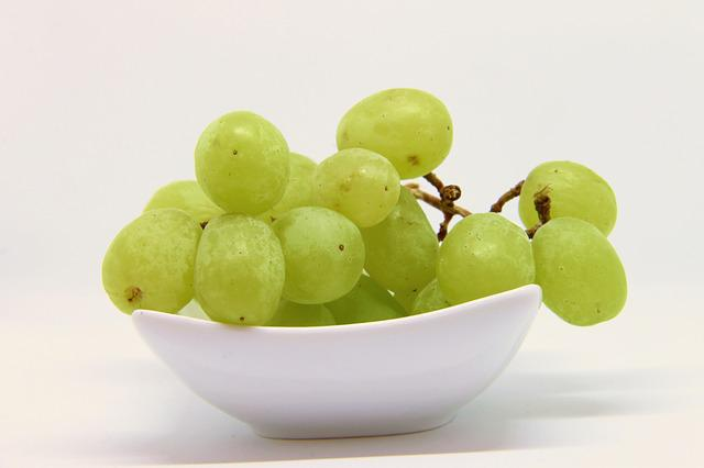 Grapes, Green, Fruit, Green Grapes, Vine, Grapevine