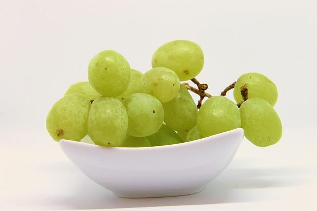 Grapes, Green, Fruit, Green Grapes, Vine, Grapevine