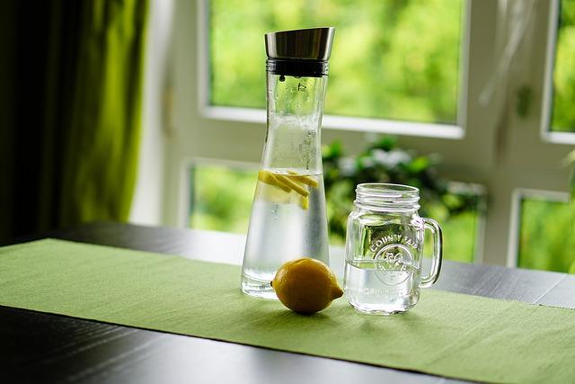Lemon, Water, Refreshment, Fruit Juice, Drink, Glass