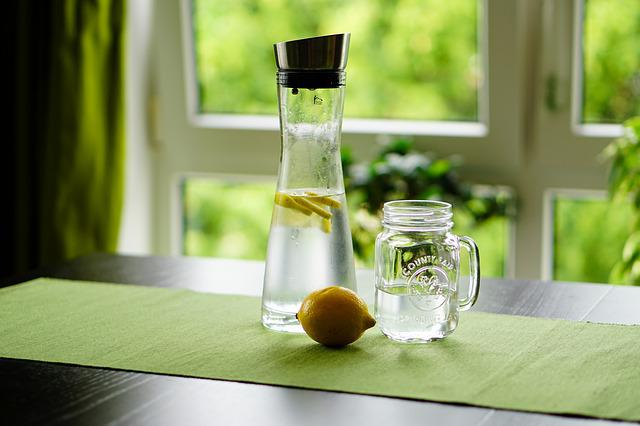 Lemon, Water, Refreshment, Fruit Juice, Drink, Glass