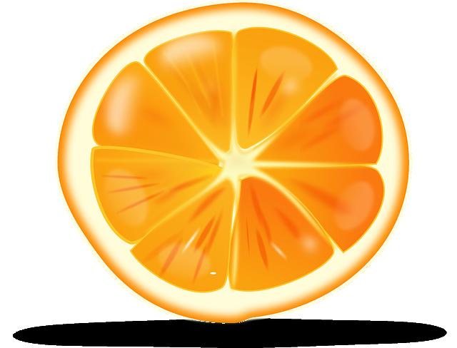 Orange, Citrus, Sliced, Fruit, Juicy, Ripe, Healthy