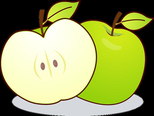 Apple, Malus, Kernobstgewaechs, Fruit, Sliced, Split