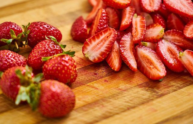 Strawberry, Fruit, Red, Macro, Beautiful, Healthy