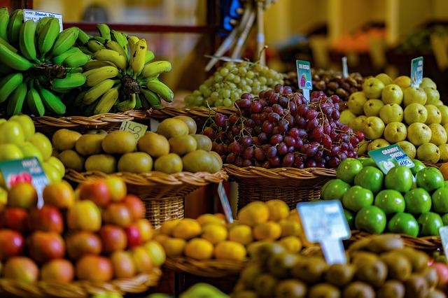 Fruit, Market, Fruits, Apple, Berries, Citrus Fruit