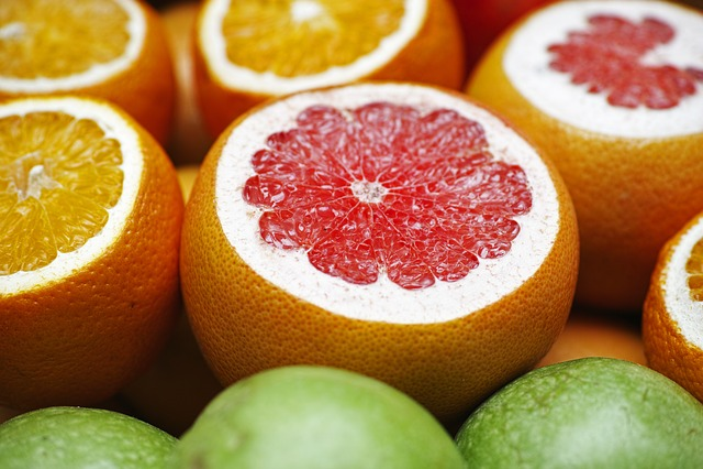 Grapefruit, Oranges, Fruit, Healthy, Nourishment, Diet