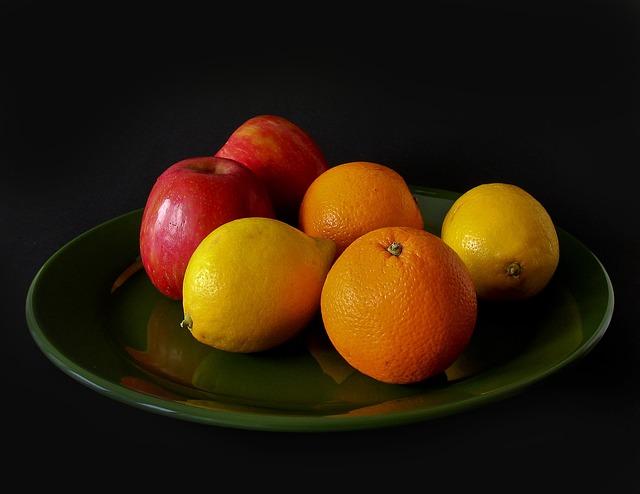 Fruit, Apple, Vitamins, Sweet, Oranges