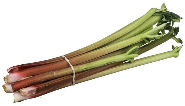 Rhubarb, Fruit, Food, Sweet, Healthy, Organic, Diet