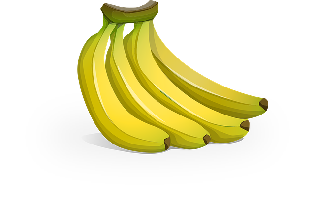 Bananas, Fruit, Yellow, Banana, Fresh, Healthy, Organic