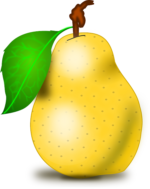 Fruit, Pear, Fresh, Healthy, Juicy, Vegetarian