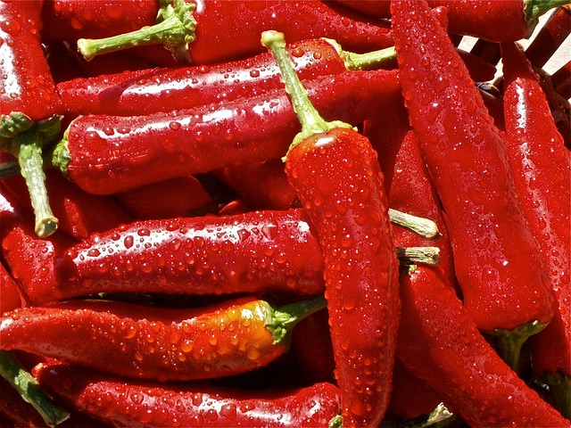 Fruit, Pepper, Vegetable, Vegetables, Nature