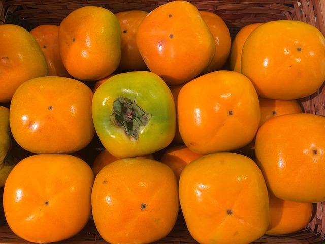 Persimmon, Autumn, Fruit, Seiyu Ltd, Living