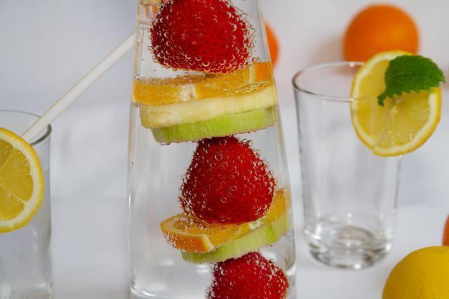 Fruit, Strawberry, Fruits, Vitamins, Kiwi, Pineapple