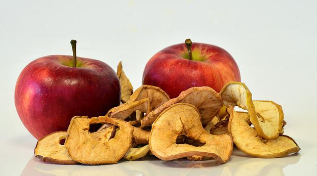 Apple, Fruit, Food, Refreshment, Healthy, Dried
