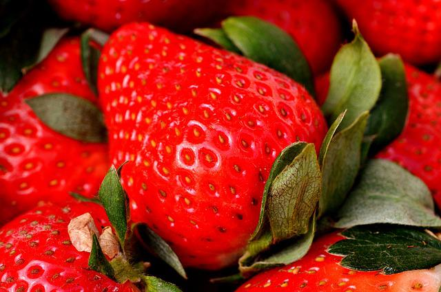 Strawberries, Delicious, Fruit, Food, Fruits, Sweet