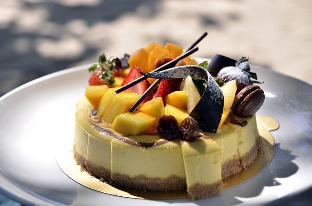 Cake, Torte, Dessert, Sweet, Fruit, Pastry, Cream