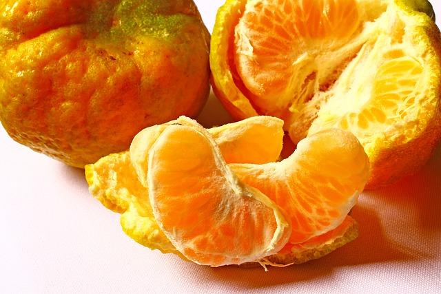 Tangerine, Fruit, Citrus Fruit, Tropical Fruit