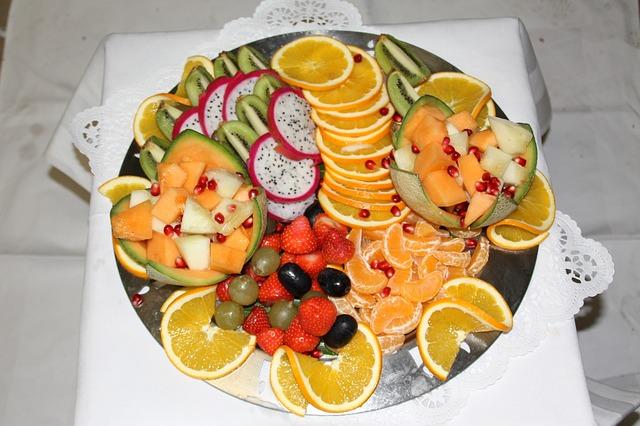 Buffet, Fruits, Fruit, Healthy, Vitamins, Arranged